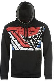 Tapout Stripe Hoody Mens - Black