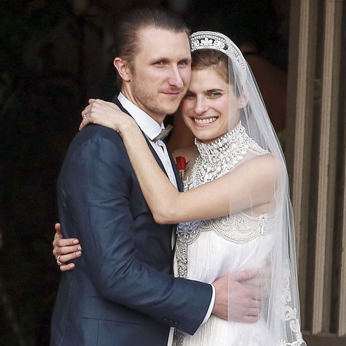 Jennifer Aniston at Lake Bell's Wedding | Pictures