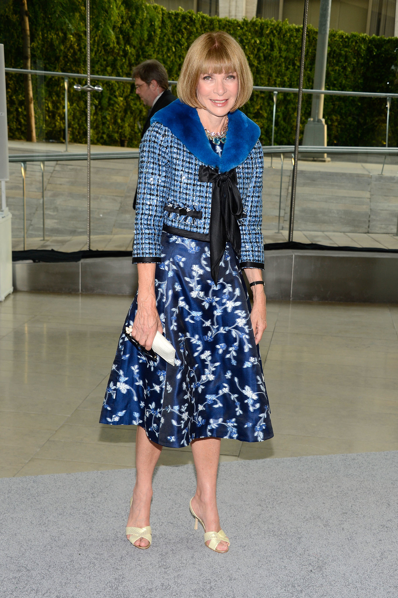 Anna Wintour at the 2013 CFDA Awards.