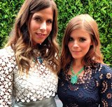 CFDA Swarovski nominee Irene Neuwirth posed with Kate Mara before heading into the awards ceremony.  Source: Instagram user CFDA