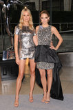 Karolina Kurkova and Cody Horn posed in smashing Michael Kors ensembles — delivering high shine and endless legs.