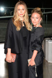 Elizabeth and Mary-Kate Olsen at the CFDA Fashion Awards.