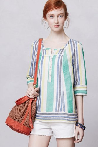 Long Beach Peasant Top
