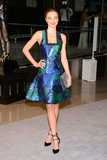 Miranda Kerr wore a colorful Proenza Schouler dress for the CFDA Fashion Awards in NYC.