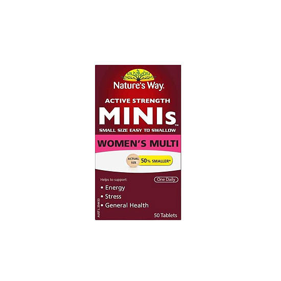 Nature's Way Mini Women's Multi-Vitamin, $14.95
