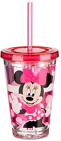 Minnie Mouse Tumbler with Straw -- Small