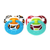 Stylish and cute, these animal-print pacifiers ($5) are a bit on the wild side.