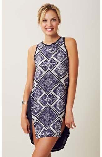 maurie and eve Evergreen Panel Singlet Dress