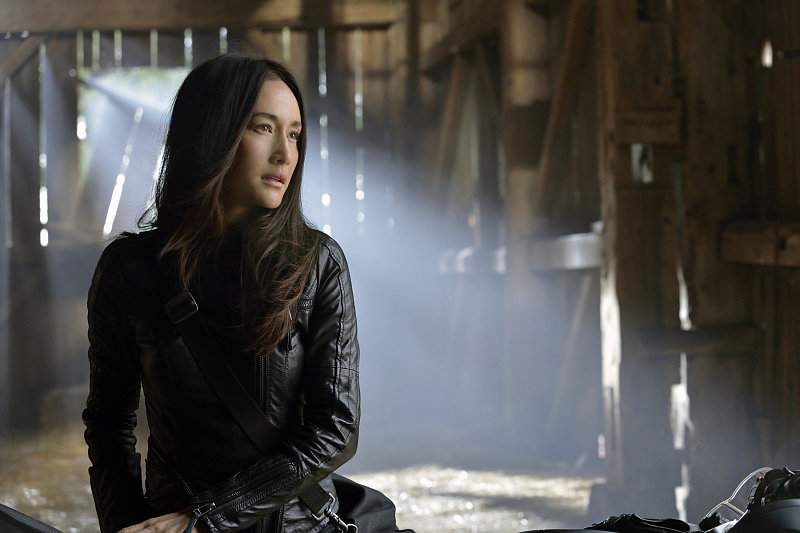 Nikita What happens:  Division is blown to pieces. Amanda gives Nikita the choice to either kill the president or let Michael die. Nikita shoots the president.  Most shocking moment: Nikita goes on the run, leaving her engagement ring (and Michael) behind.