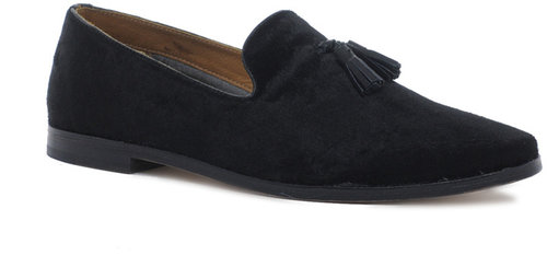 ASOS Tassel Loafers in Velvet