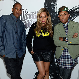 Beyonce, Jay-Z and Pharrell at Billionaire Boys Club Party