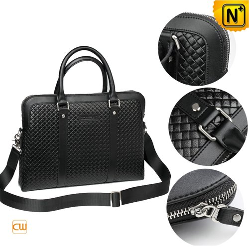 Mens Leather Business Bags CW913259 - cwmalls.com