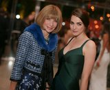 Anna Wintour stood with her daughter, Bee Shaffer. Source: Billy Farrell/BFANYC.com