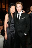 Vera Wang and Calvin Klein at the Lifetime Achievement Award Celebration in New York. Photo: Benjamin LozovskyBFAnyc.com