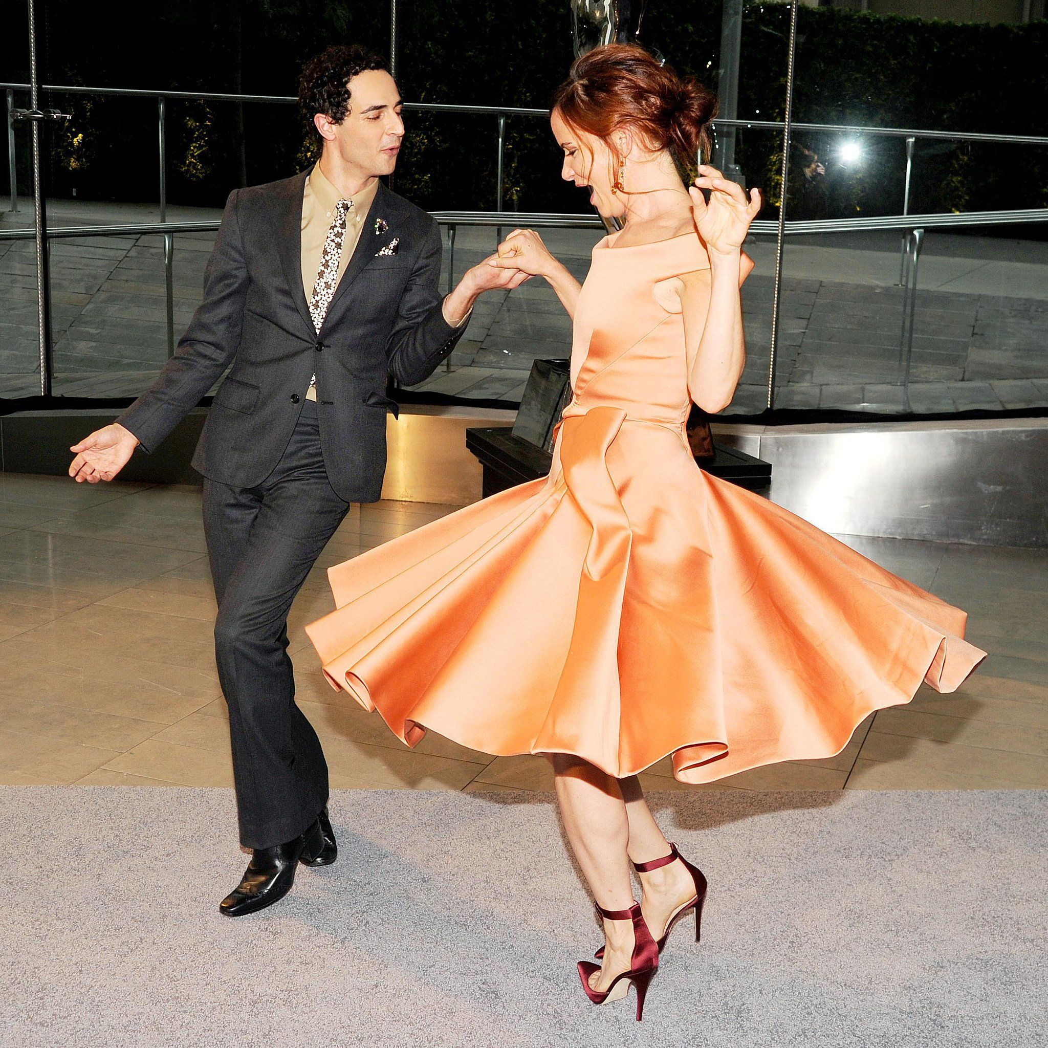 Zac Posen and Juliette Lewis at the 2013 CFDA Awards. Source: Billy Farre