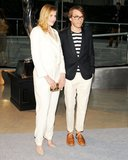 Greta Gerwig with Scott Sternberg of Band of Outsiders. Source: Billy Farrell/BFAnyc.com