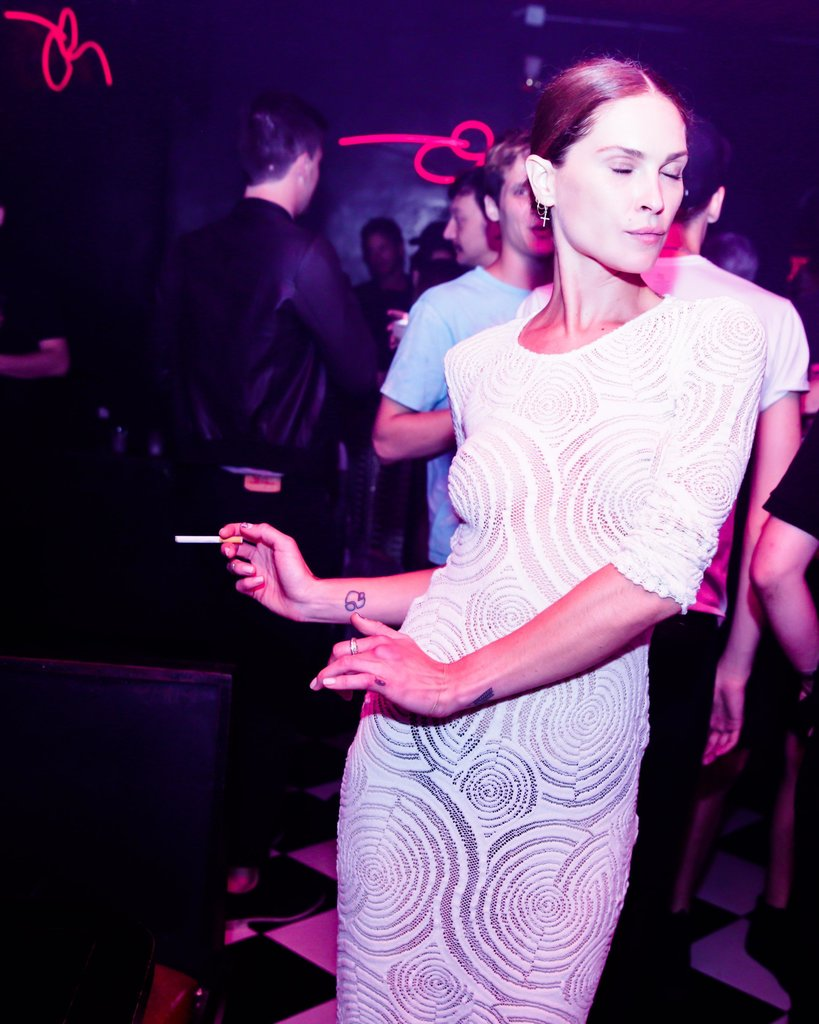 Erin Wasson at Riccardo Tisci's International CFDA Award Celebration in New York. Photo: David X PruttingBFAnyc.com
