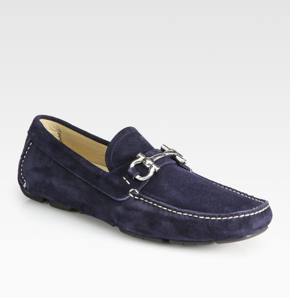 A suede driver in deep navy will never, ever go out of style. Treat an important father to this sophisticated Ferragamo style ($520).