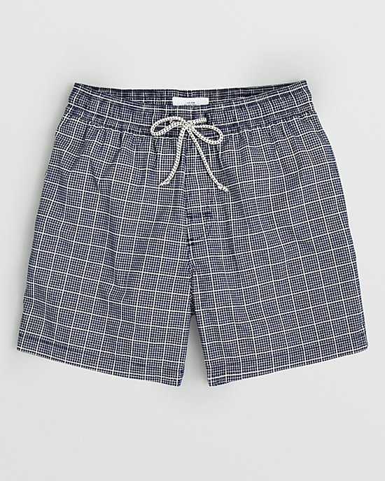 If your father's still sporting swim trunks from the '90s (or earlier!), give him a little nudge toward something more stylish. We love the simple, short cut of Jack Spade's trunks ($115).