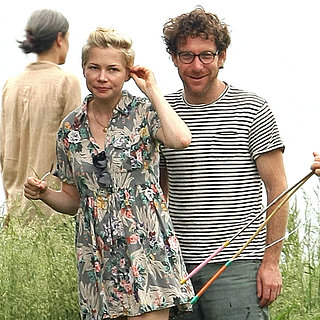 Michelle Williams With Her New Boyfriend Dustin Yellin
