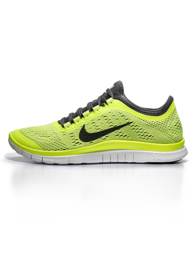 Fitness addicts or men who need a little nudge to hit the gym alike will appreciate a stylish new pair of kicks. Nike's Free in neon yellow ($110) fit the bill.
