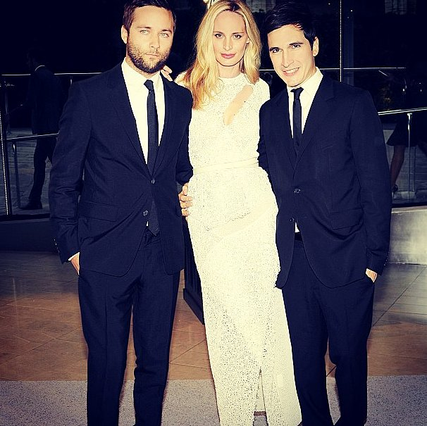 The CFDA Award winning duo from Proenza Schouler posing with Lauren Santo Domingo.  Source: Instagram user thelsd