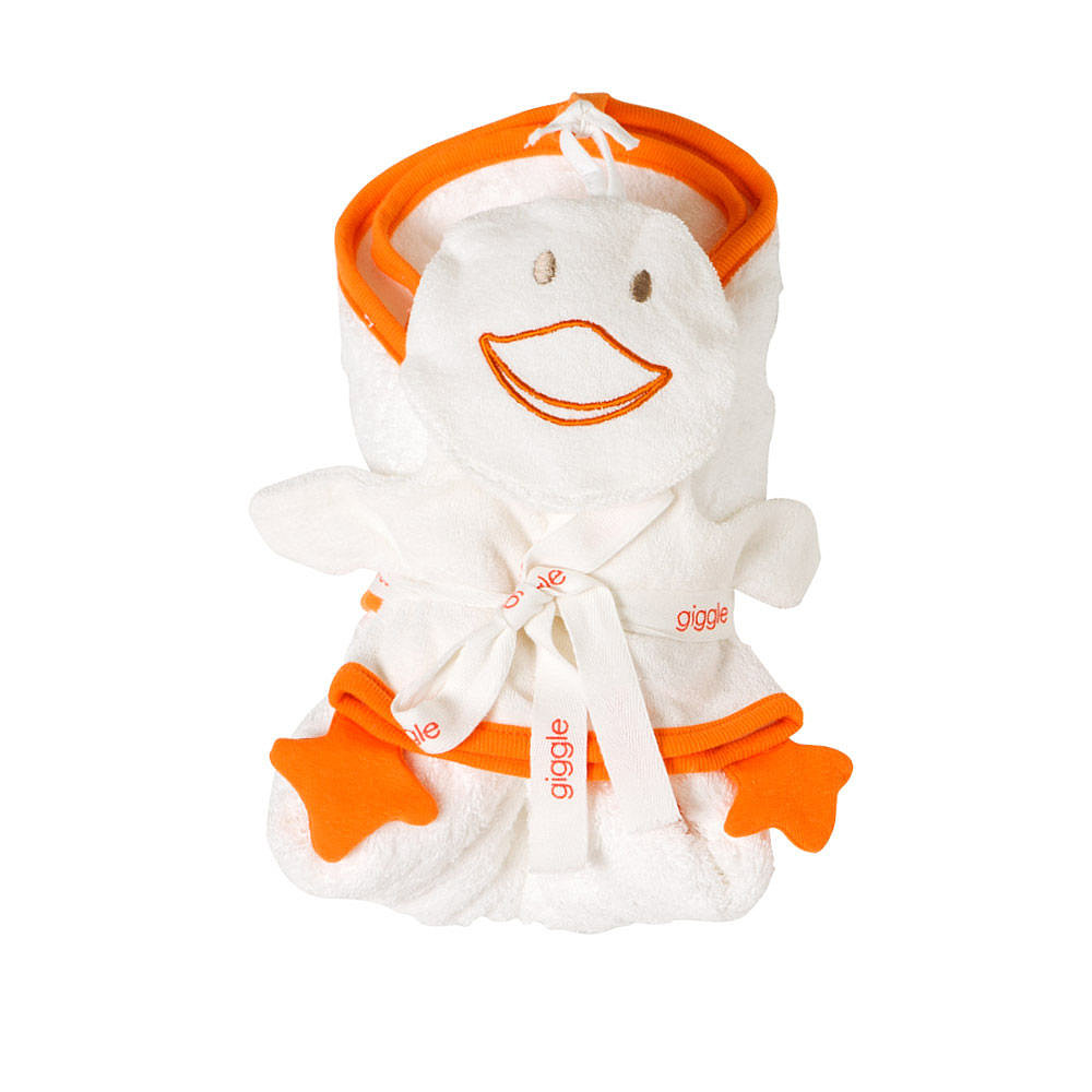 Giggle Duck Mitt & Hooded Towel Set