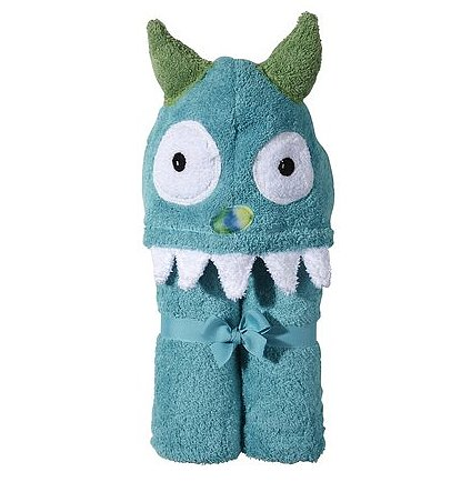 Child Monster Hooded Towel