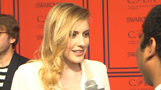 "Greta Gerwig Is ""Just Trying to Look Good Every Day"""
