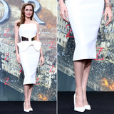 Angelina Jolie Is the Latest Star to Get In on the White-Pumps Craze