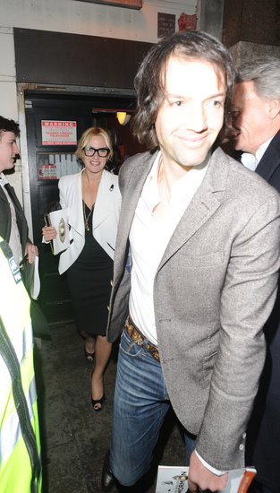 Kate Winslet and Ned Rocknroll stepped out in March 2013 to see a performance of The Book of Mormon in London.