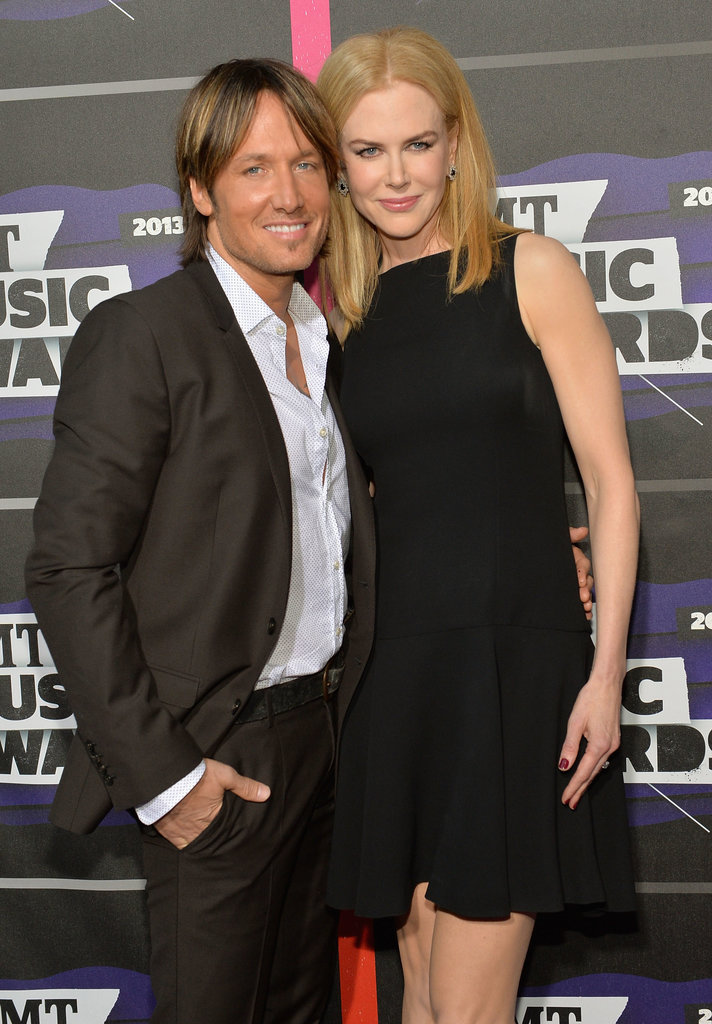 Nicole Kidman and Keith Urban posed on the red carpet.