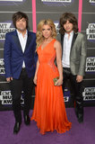The Band Perry arrived at the CMT Awards.