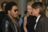 Nicole Kidman and Keith Urban greeted Lenny Kravitz at the 2013 CMT Awards.