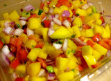 Mango Red Pepper Salsa