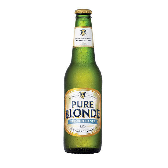 Pure Blonde Per 355ml Bottle. . .