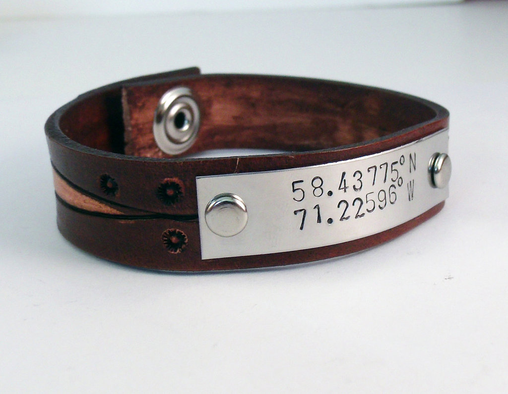 Namedrops Latitude and Longitude Bracelet