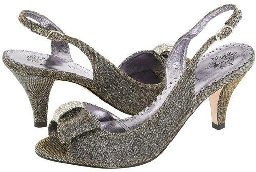 J. Renee - Dayna (Pewter Glimmer Fabric) - Footwear