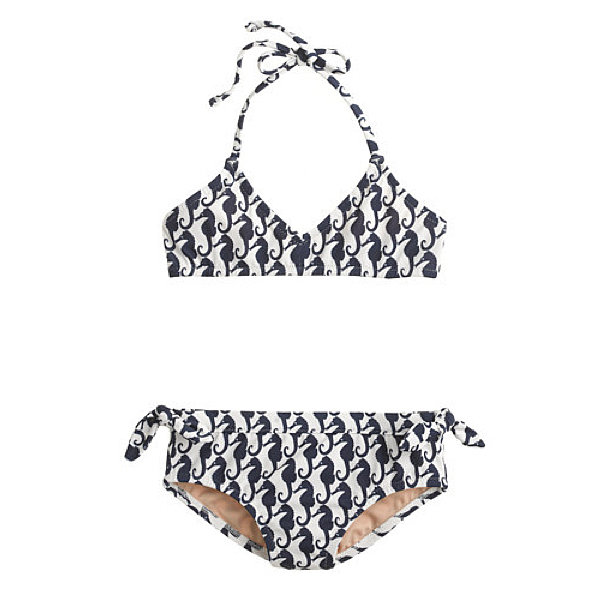 J.Crew Sea Horse Two-Piece