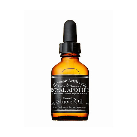 Facial oils and cleansers are a big trend in the beauty aisle, but they're also an option for men, too. Royal Apothic Botanical Shave Oil ($20) will help the razor blade glide more smoothly, all while softening his skin.