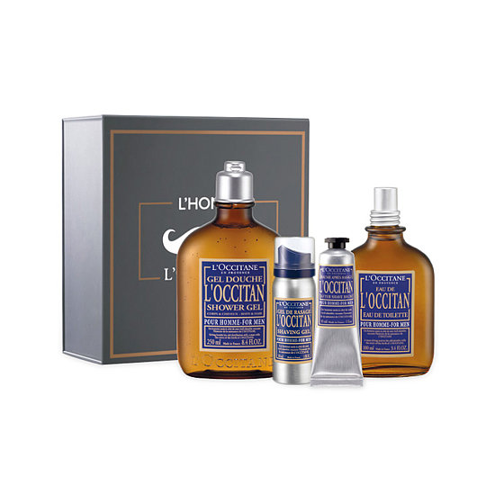 The L'Occitane Sophisticated Set ($65) includes all his shaving essentials like gel, aftershave balm, and a fragrance in a mustached box kit. You can't get any better than French luxury.