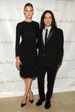 Constance Jablonski and Olivier Theyskens at the 2013 Gordon Parks Foundation Awards in NYC.