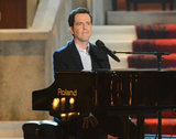 Ed Helms played the piano at the Guys Choice Awards in 2012.