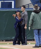 Jennifer Love Hewitt and Brian Hallisay