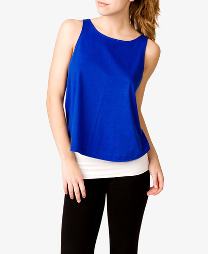 FOREVER 21 Relaxed Workout Tank