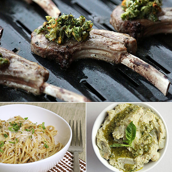 Load Up Your Appetizers and Entrées With Pesto