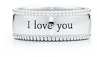 """Tiffany Yours """"I Love You"""" ring"""