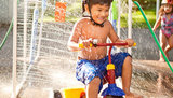 Make a Trike Car Wash