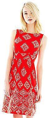 Joe FreshTM Print Gathered Dress