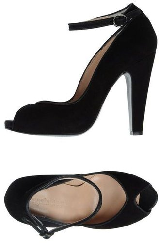 AGAIN&AGAIN Pumps with open toe